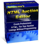 Sellercore HMTL Auction Editor Software