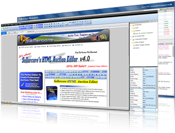 The one of a kind HTML Editor for auction templates.