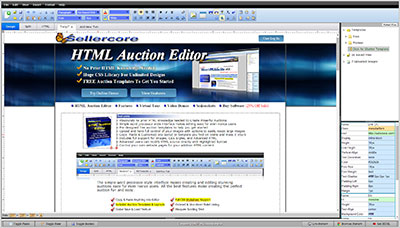 Free ebay templates auction listing html generator for Free ebay store template builder